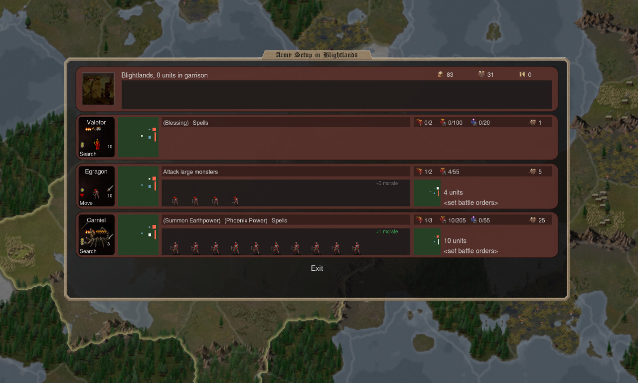Plans de bataille