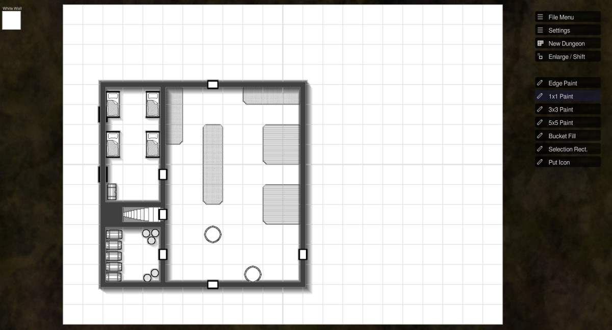 Illwinter S Floorplan Generator