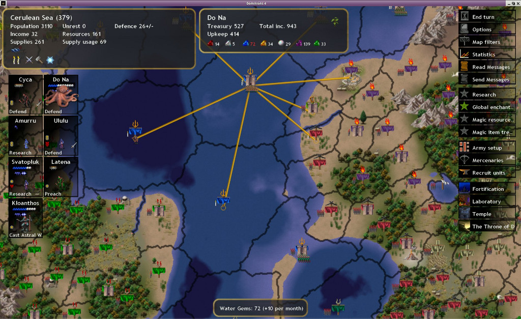 Dominions 4 screenshot